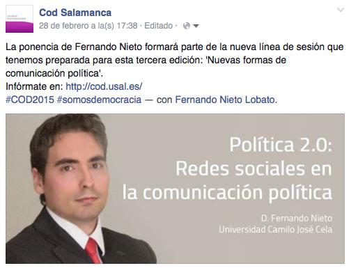 Politica 2.0 COD SALAMANCA