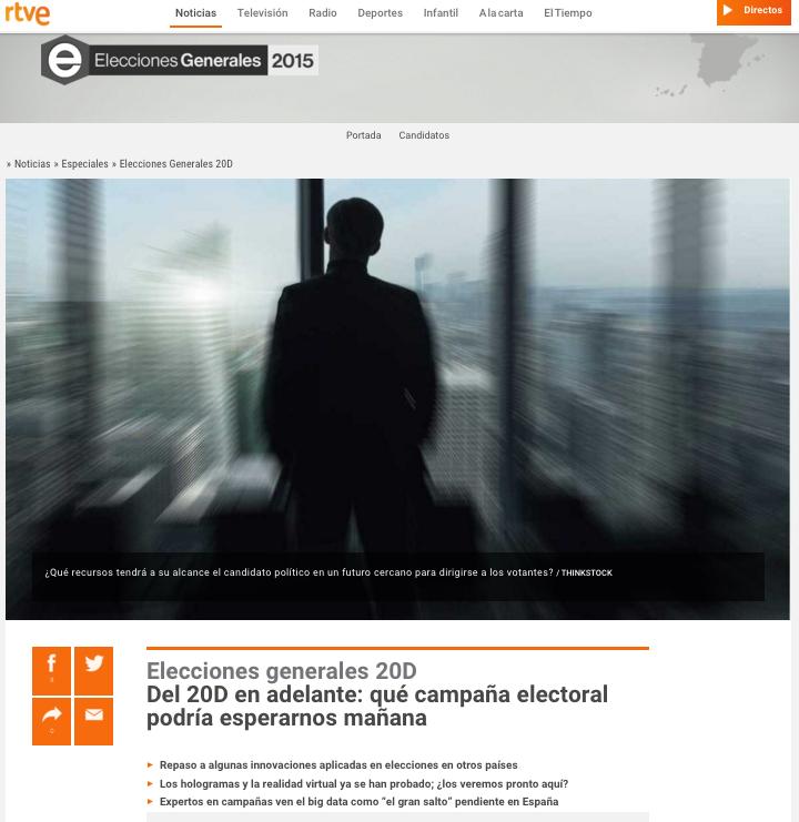 Reportaje RTVE.es Del 20D en adelante: qué campaña electoral podría esperarnos mañana