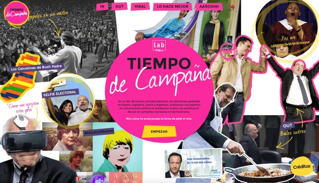Tiempo de Campaña Reportaje RTVE.es
