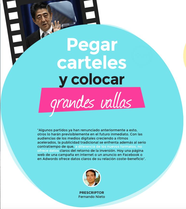 Reportaje Tiempo de Campaña Web de Televisión Española RTVE.es