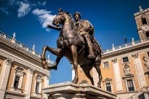 Estatua del emperador Marco Aurelio